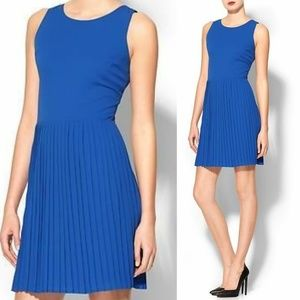 NWT Pim + Larkin Harper Pleated Fit & Flare Dress